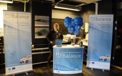 The HyBalance stand