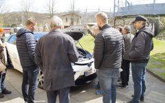 Presentation of the hydrogen car, Toyota Mirai